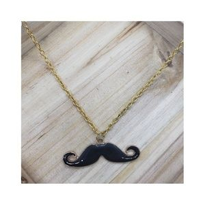 😎Whimsical Mustache Necklace😎